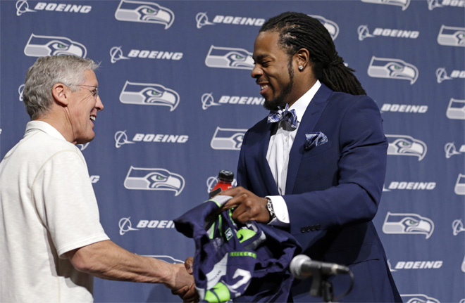 Seahawks Sherman Extension Football