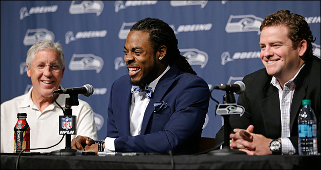Seahawks sign Richard Sherman to $57.4 million contract extension