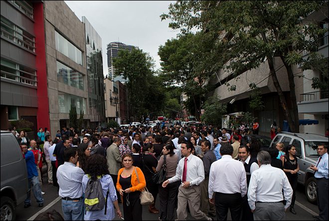 Strong earthquake shakes Mexico's Pacific coast