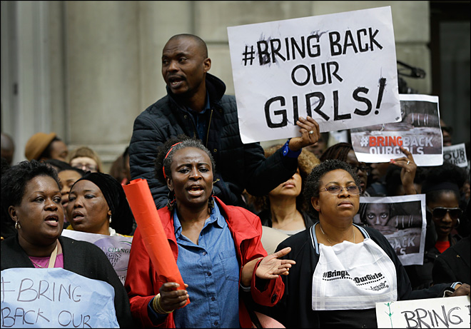 British, U.S. experts arriving to help find kidnapped Nigerian girls