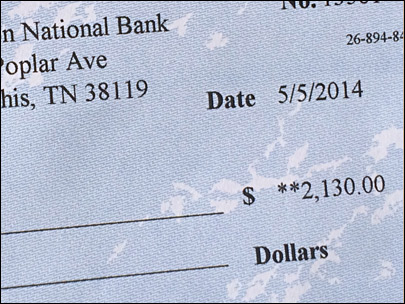 Man suspects check is a scam: 'I don't know anyone from Tennessee'