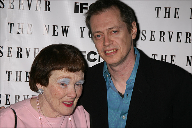Steve Buscemi with his mother Dorithy Buscemi