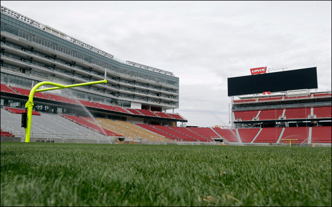 49ers gear up for first game at Levi's Stadium