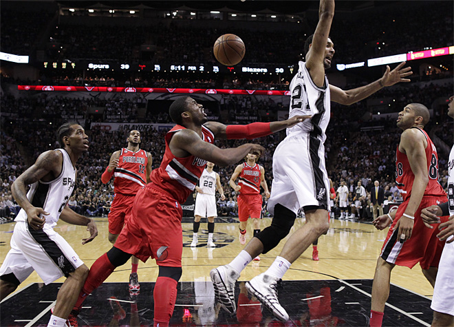 Trail Blazers Spurs Basketball