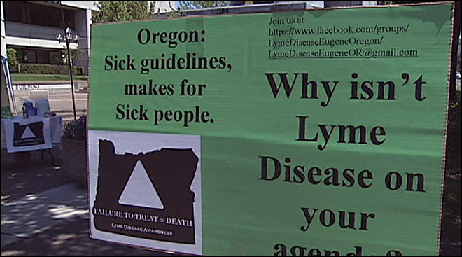 'There's a belief that Lyme disease does not exist here'