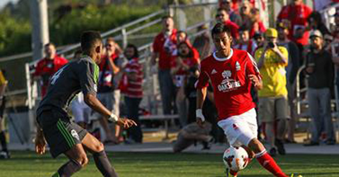 Lane United kicks off its first season with a win