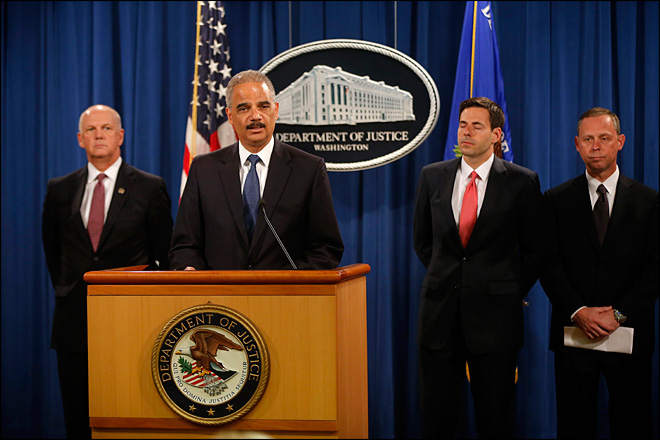 U.S. charges Chinese officials in cyber-spying case