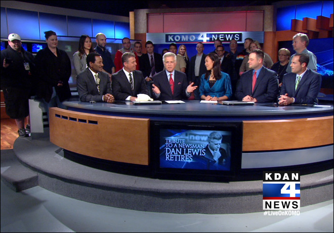 Watch: KOMO's farewell to Dan Lewis after 27 years