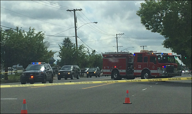 Man hit, killed by pickup on River Road in North Eugene