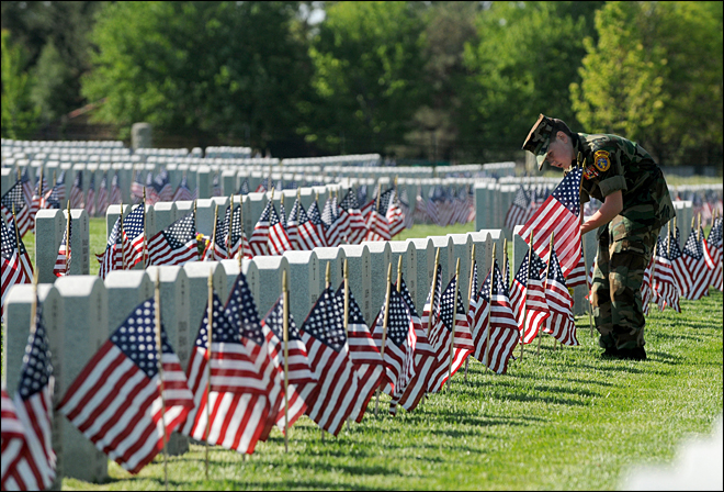 U.S. honors veterans over Memorial Day weekend