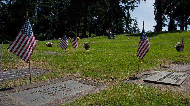 Memorial Day ceremonies around Eugene/Springfield