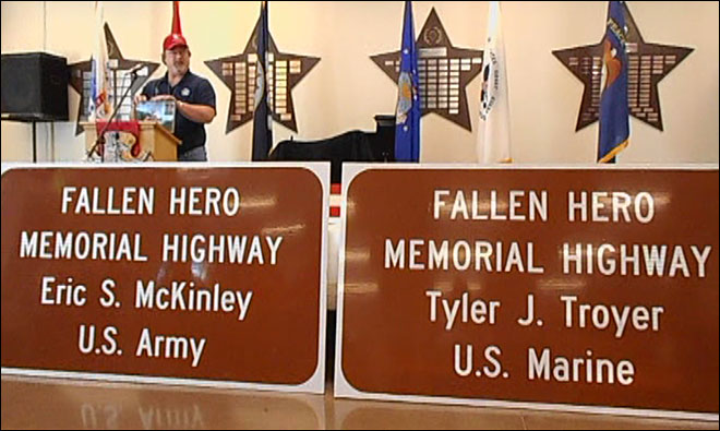 Fallen military heroes will be honored along Oregon highways