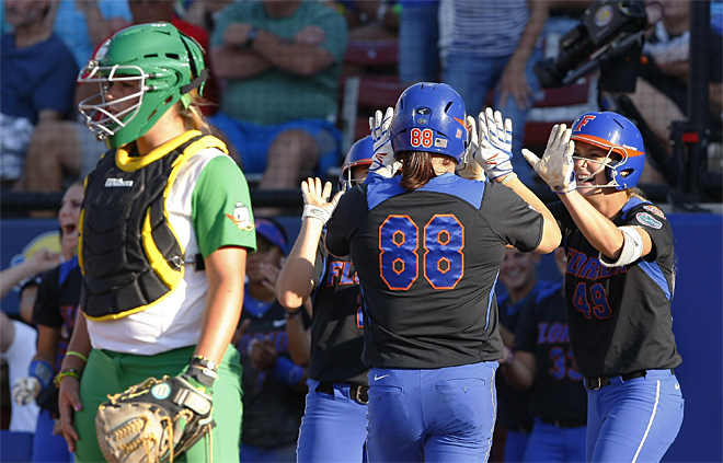 NCAA Florida Oregon Softball