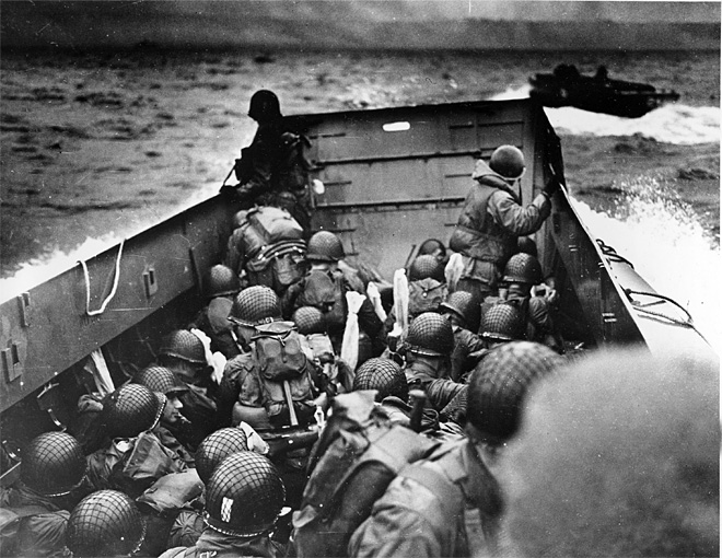 Original D-Day news report: 'We will accept nothing less than full victory'
