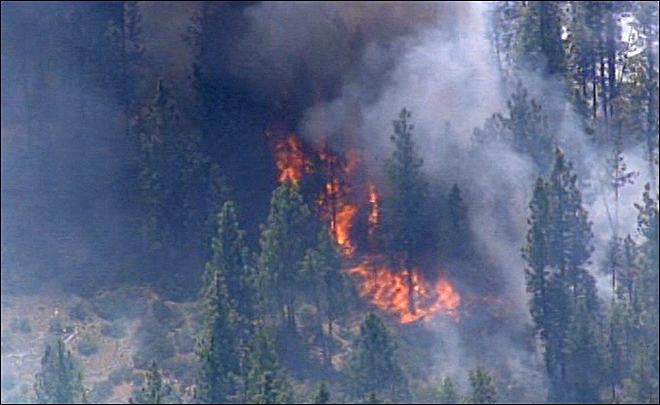 Bend Wildfire