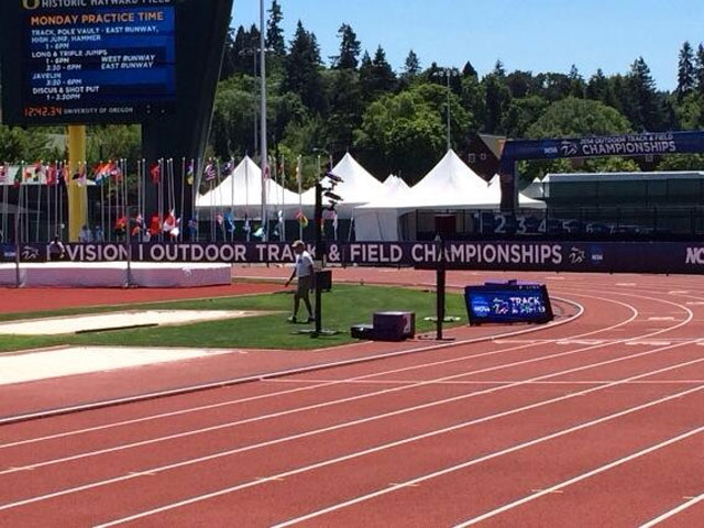 Ducks have a shot at winning national track title at home