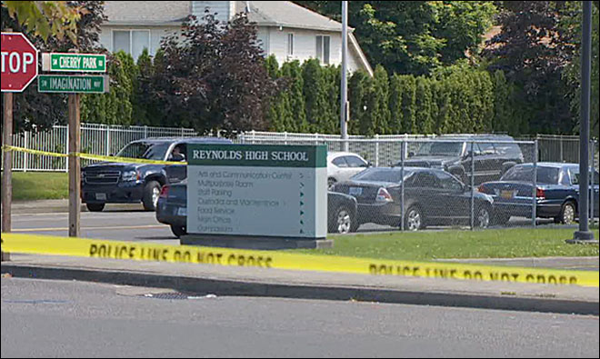 Police: Student killed, teacher injured, shooter dead at Reynolds HS in Troutdale