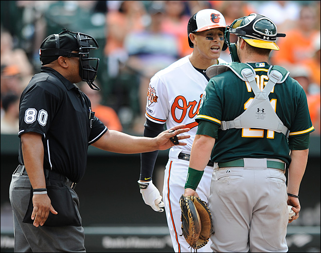 Orioles 3B Machado suspended for 5 games after bat toss
