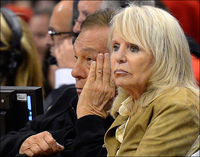 Shelly Sterling to be given ''Clippers No. 1 Fan'' title if deal closes