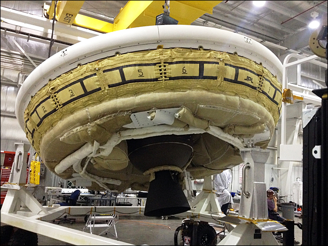 NASA hopes to launch 'flying saucer' after delay