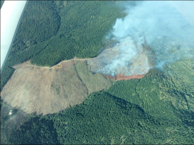 Fire burns 56 acres north of Gold Beach