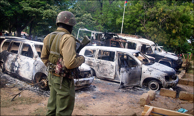 48 dead as gunmen kill Christians, torch hotels in Kenya