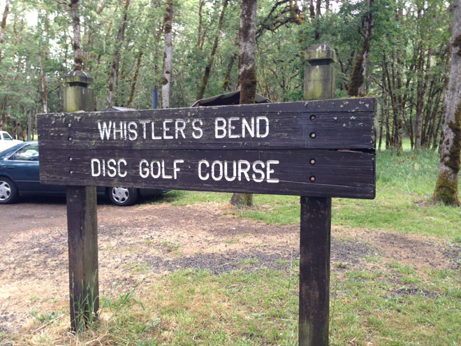 Disc golf course closed during construction