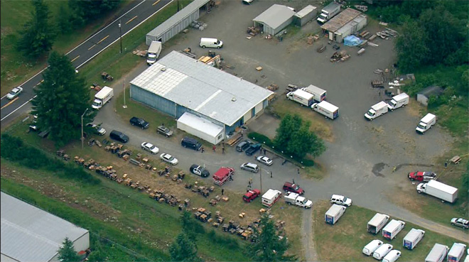1 killed, 2 injured in explosion at Northwest fireworks facility
