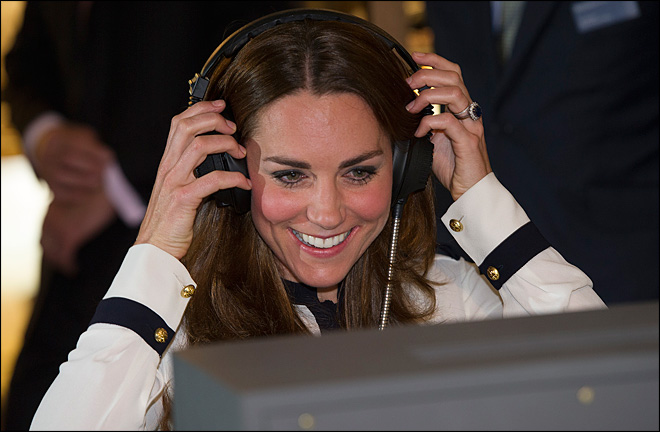 Kate tries code-breaking at restored WWII center