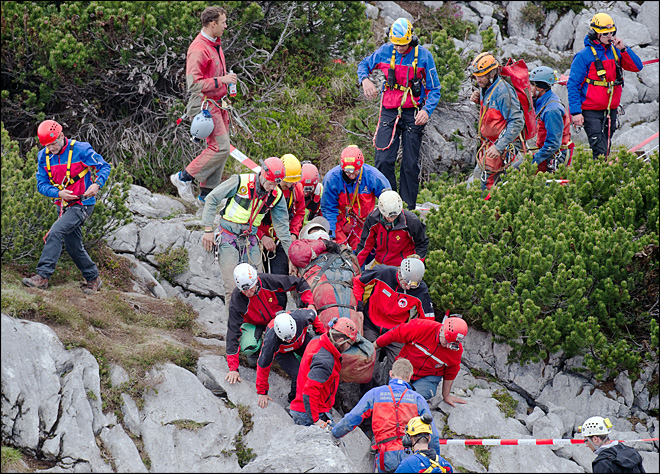 After 2 weeks, injured man rescued from Germany's deepest cave