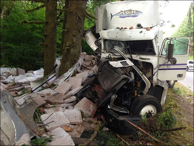 Both lanes of Highway 26 open again after semi crash