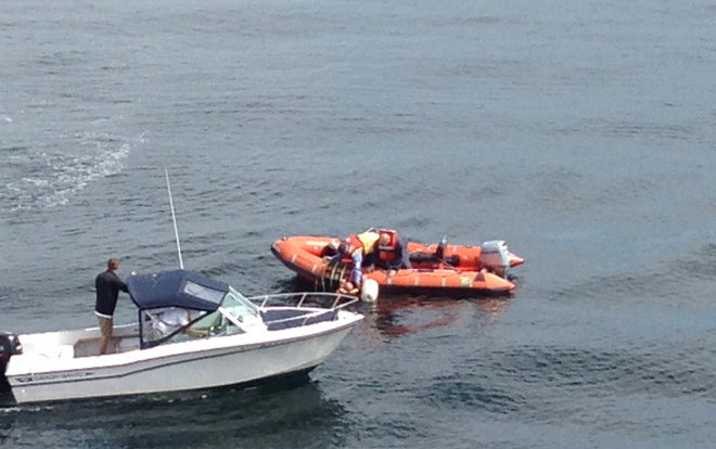 Ferry crew rescues man who fell from boat in Elliott Bay