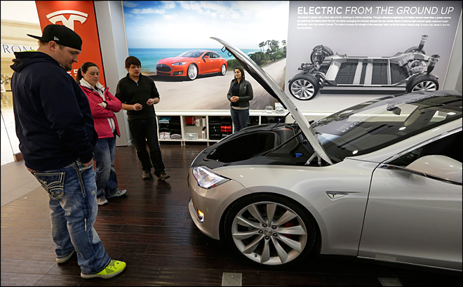 Tesla Motors dealing as states play factory poker