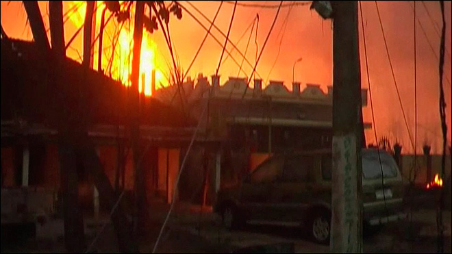 India pipeline blast kills 15 people, guts houses