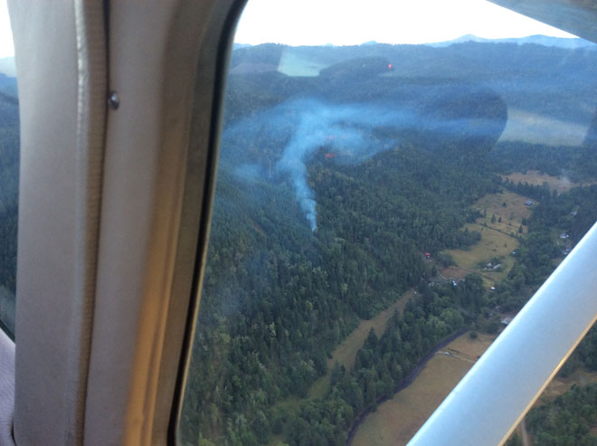 Lightning sparks new wildfires in Oregon