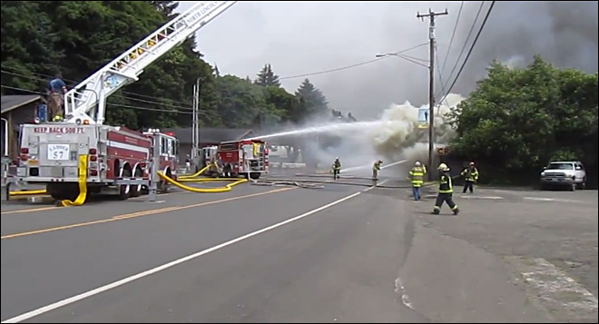 Lincoln City's historic Crab Pot restaurant destroyed in fire