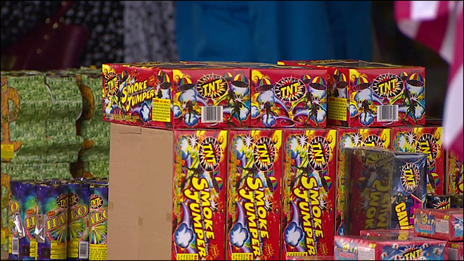 Eugene Police issue 9 illegal fireworks citations