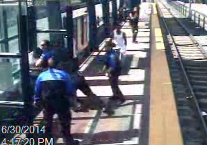Police release surveillance video of deadly light rail shooting