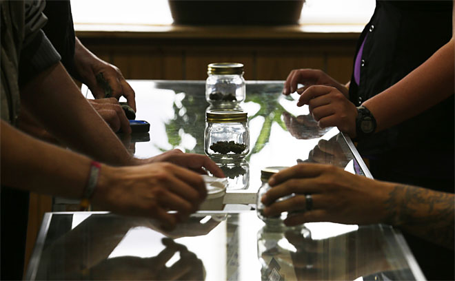 Washington marijuana sales reach $3.8 million in 1st month