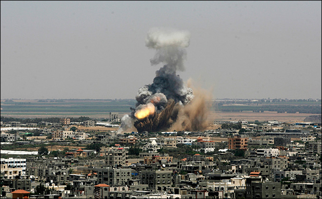 Israel launches Gaza offensive, at least 10 killed