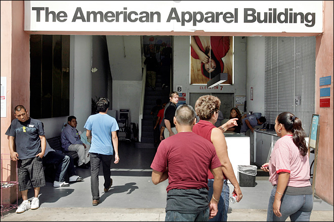 Source: American Apparel to receive financing