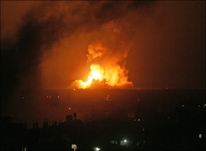 Israel hits key Hamas targets in Gaza offensive