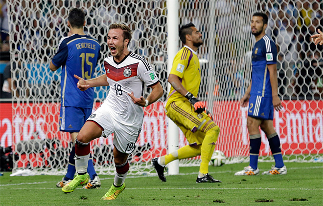Gotze scores late to give Germany the World Cup