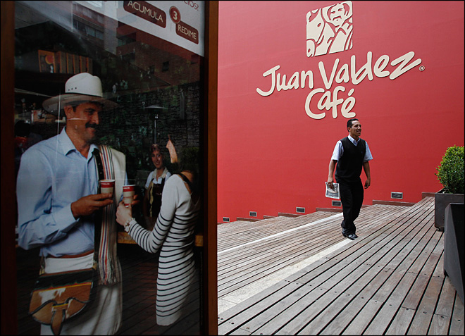 Make room Juan Valdez: Starbucks opens in Colombia