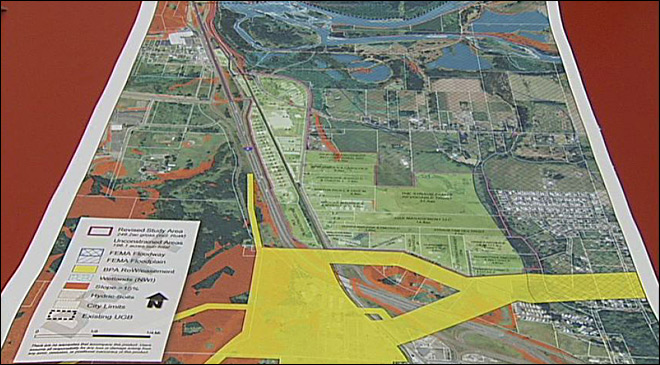 Urban growth boundary plans near Springfield farmland