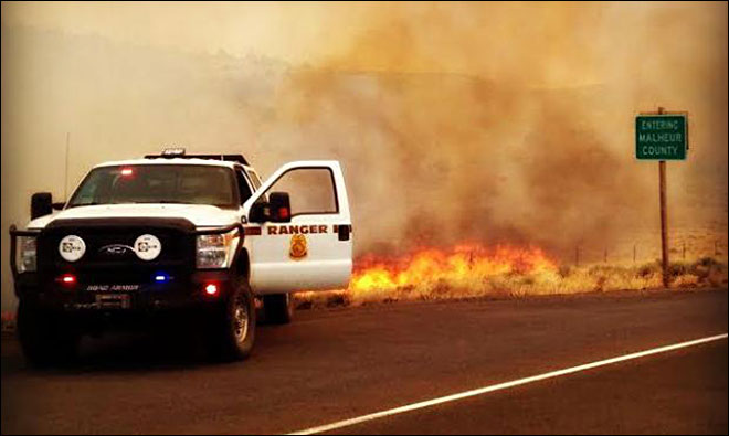 Oregon wildfires stretch resources thin