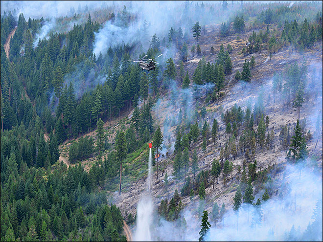 Cooler weather helps contain Oregon wildfires, but trouble lies ahead
