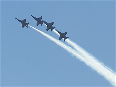 Photos: Blue Angels roar over Lake Washington