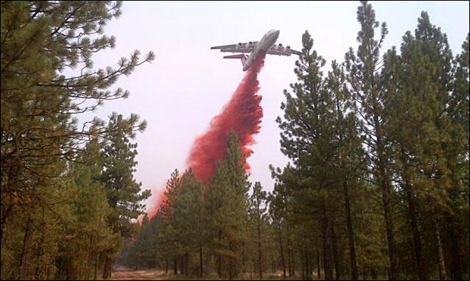 Firefighters brace for new lightning storms in Oregon