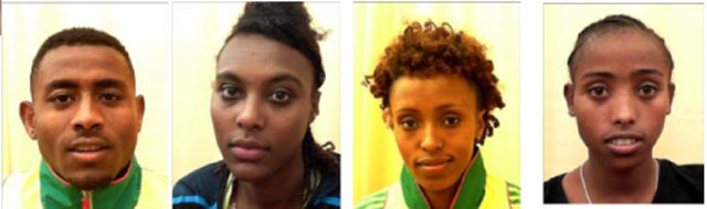 Athlete told police she left track meet due to civil unrest in Ethiopia